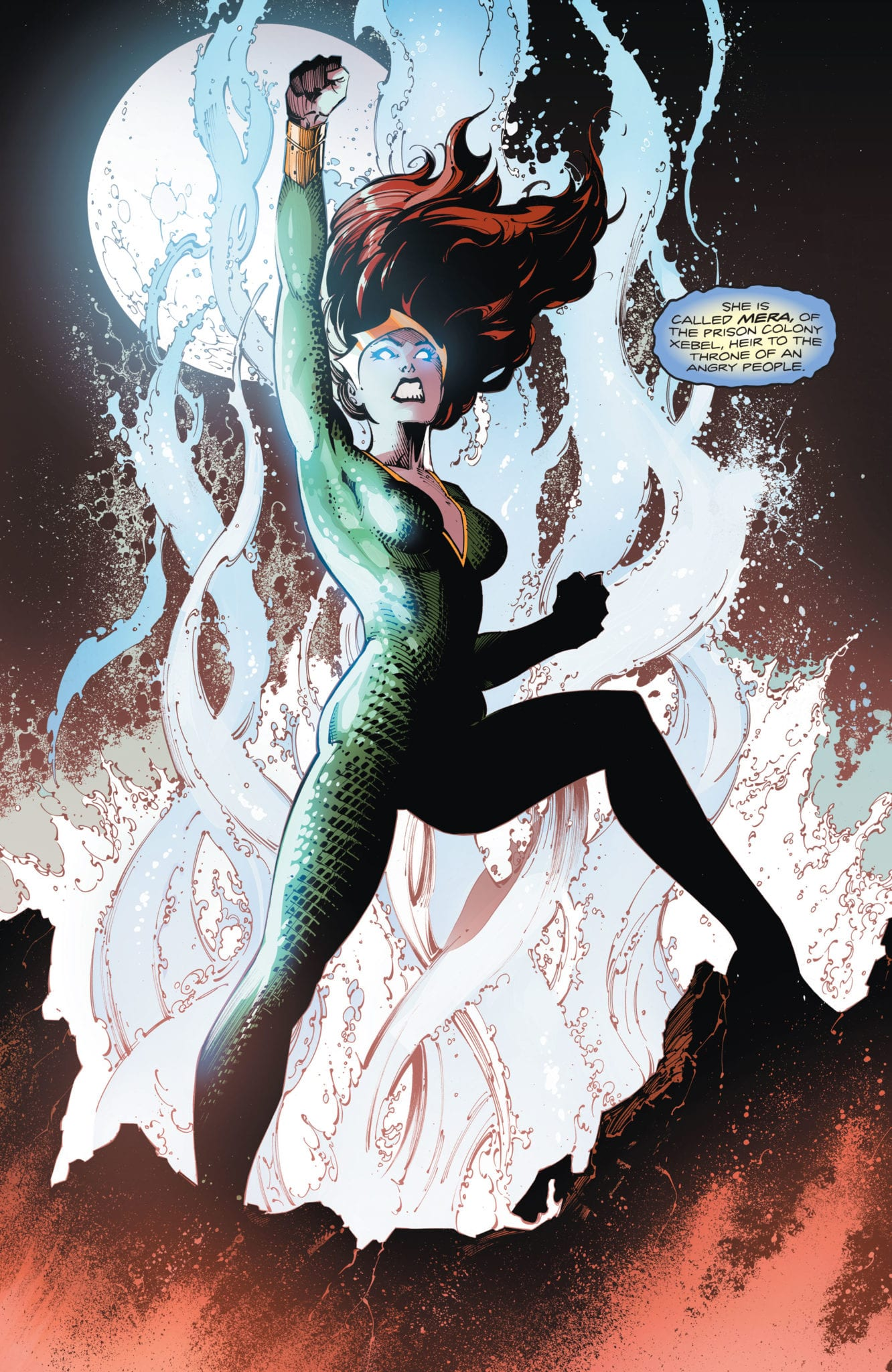 Mera, the Queen of Atlantis