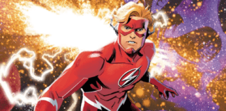 Wally West Flash Forward