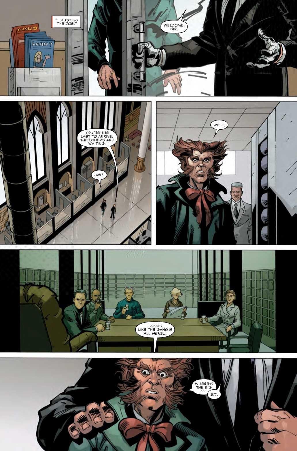 DAREDEVIL #7 - Hell's Kitchen Evolves 1