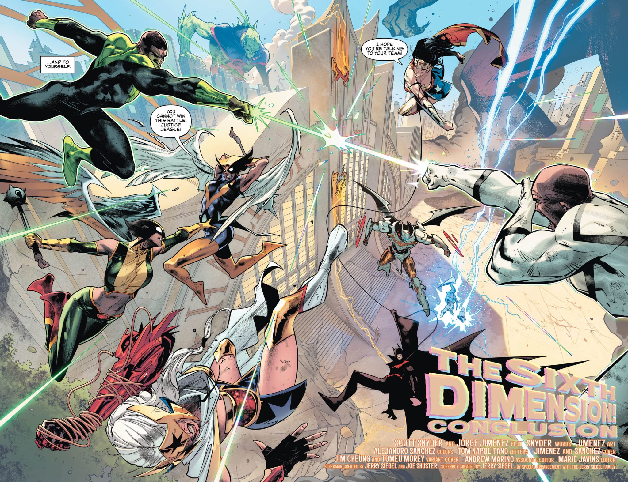 Justice League #25 Page