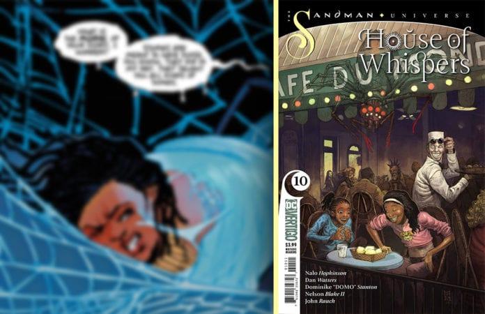 DC Vertigo Exclusive Preview: HOUSE OF WHISPERS #10 1