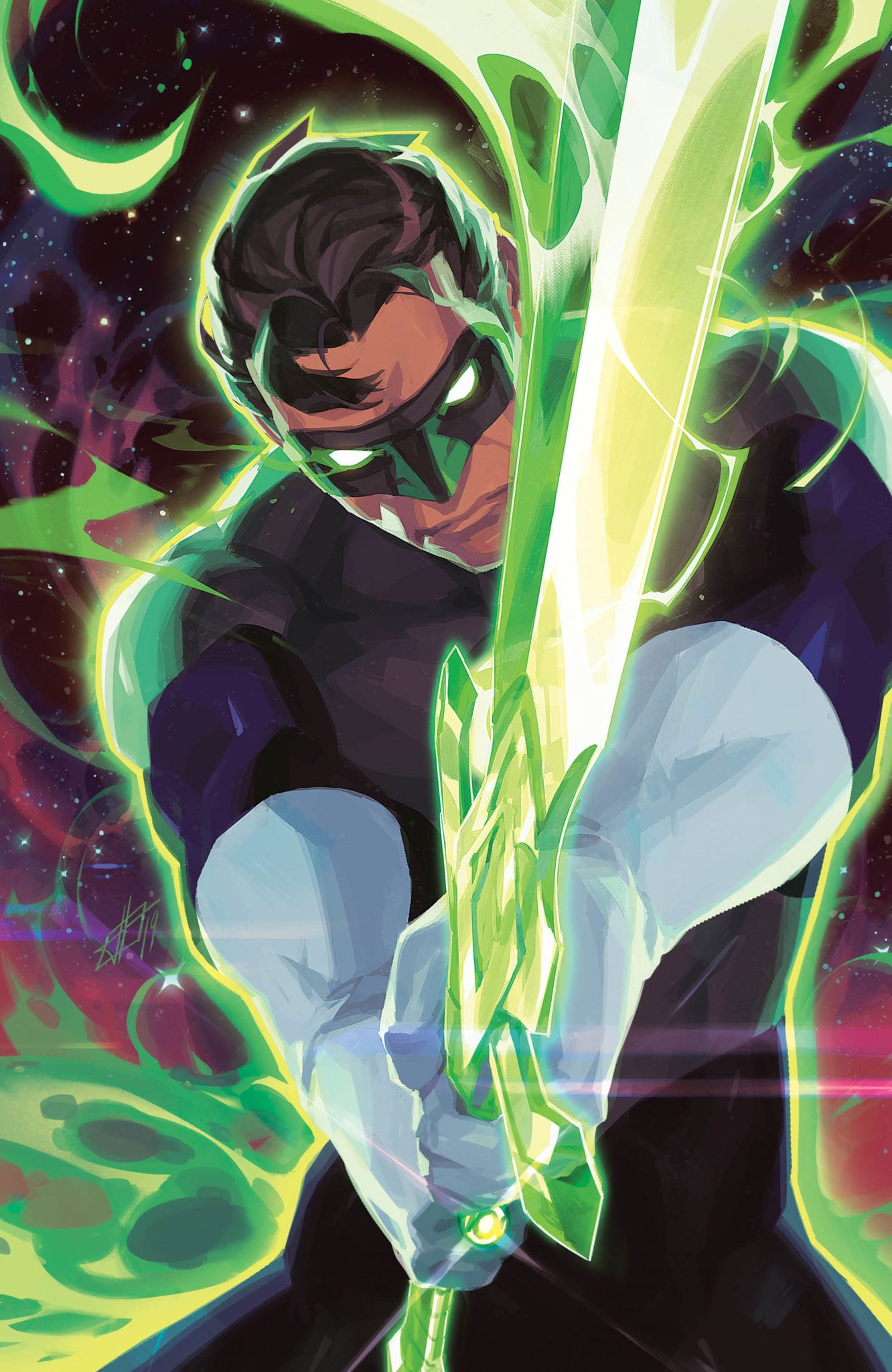 THE GREEN LANTERN #8 variant cover art