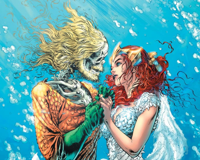 AQUAMAN #49 cover artwork