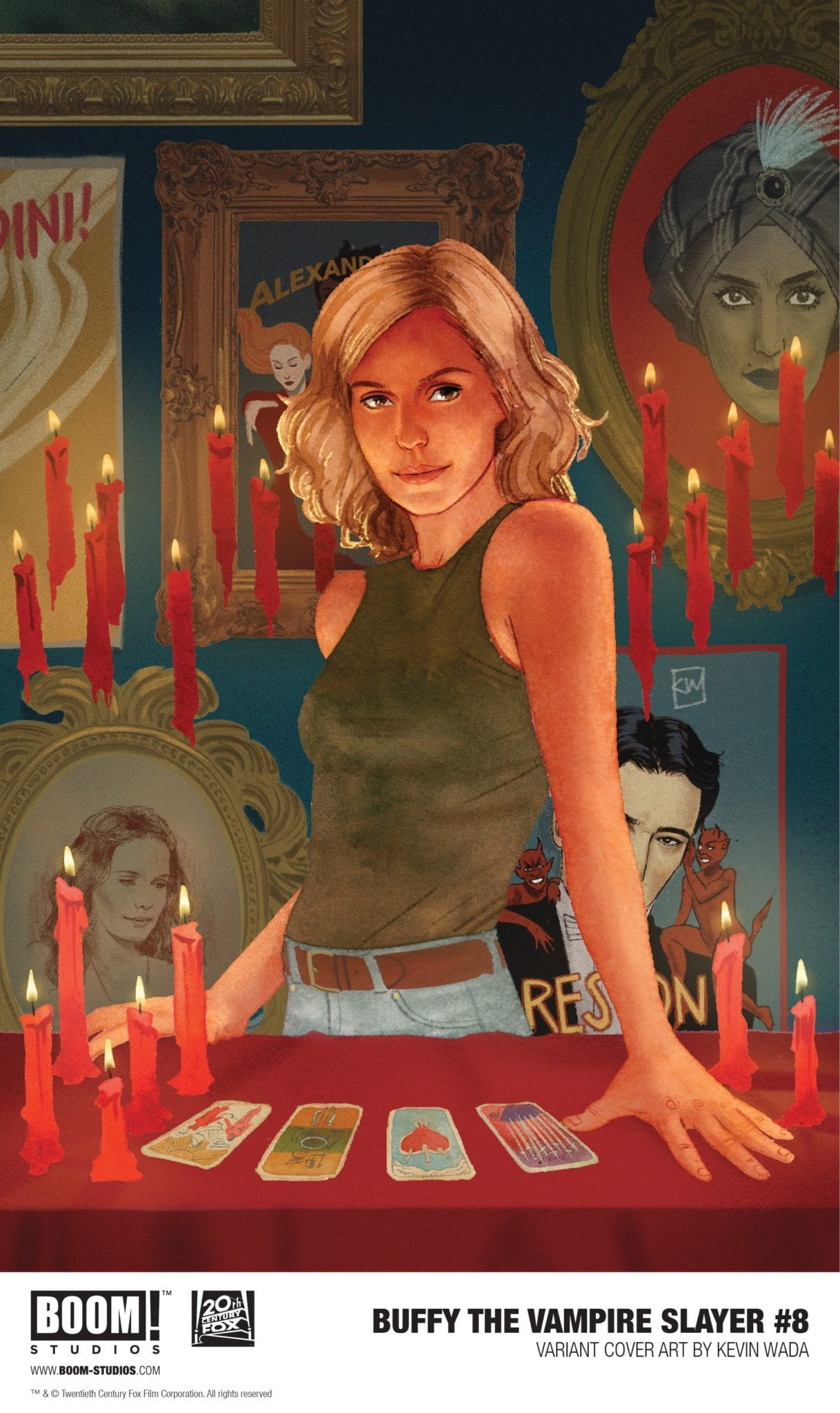 Exclusive Cover Reveal: BUFFY THE VAMPIRE SLAYER #8