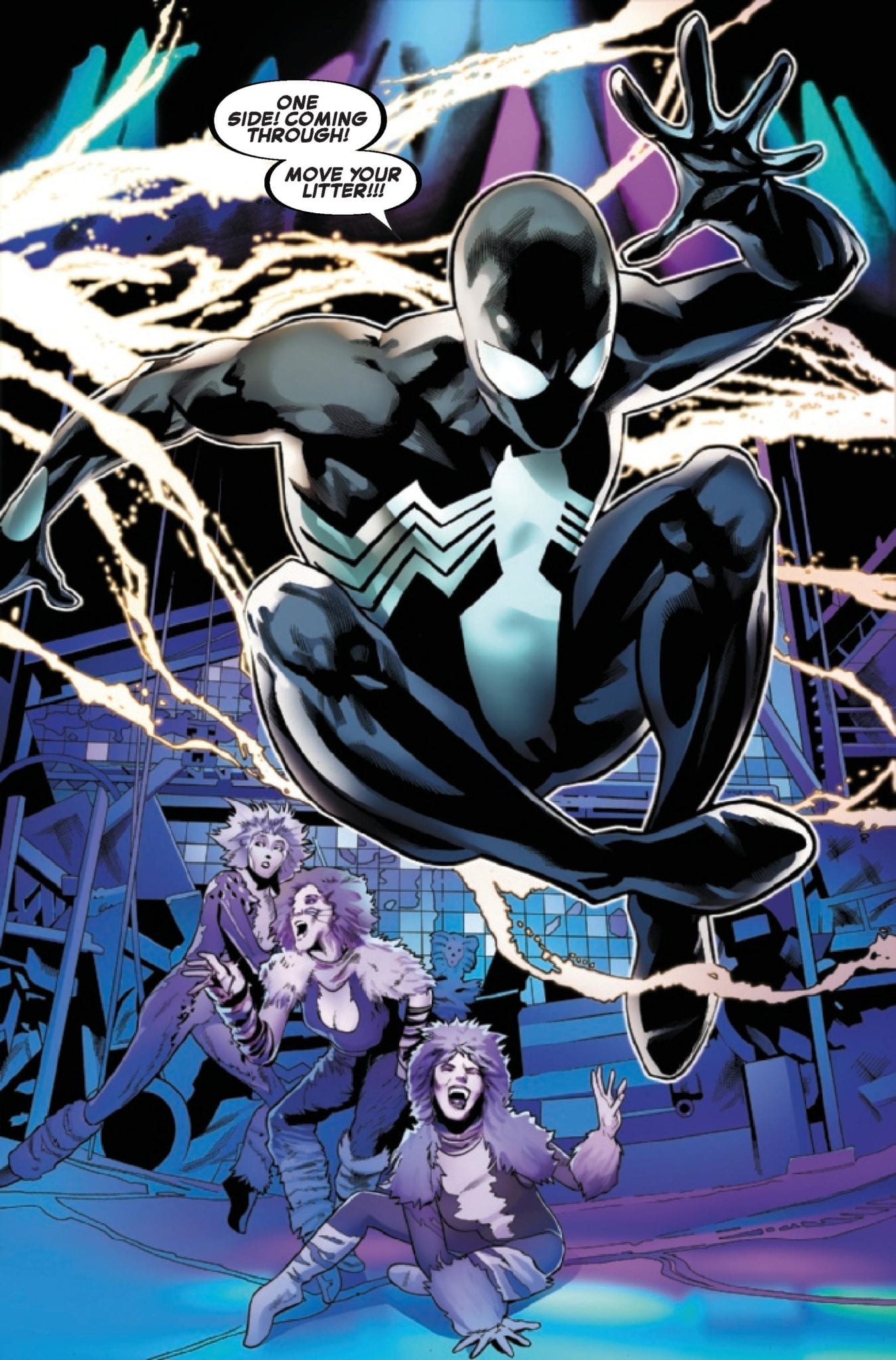 Marvel Comics Exclusive Preview: SYMBIOTE SPIDER-MAN #3 (OF 5)