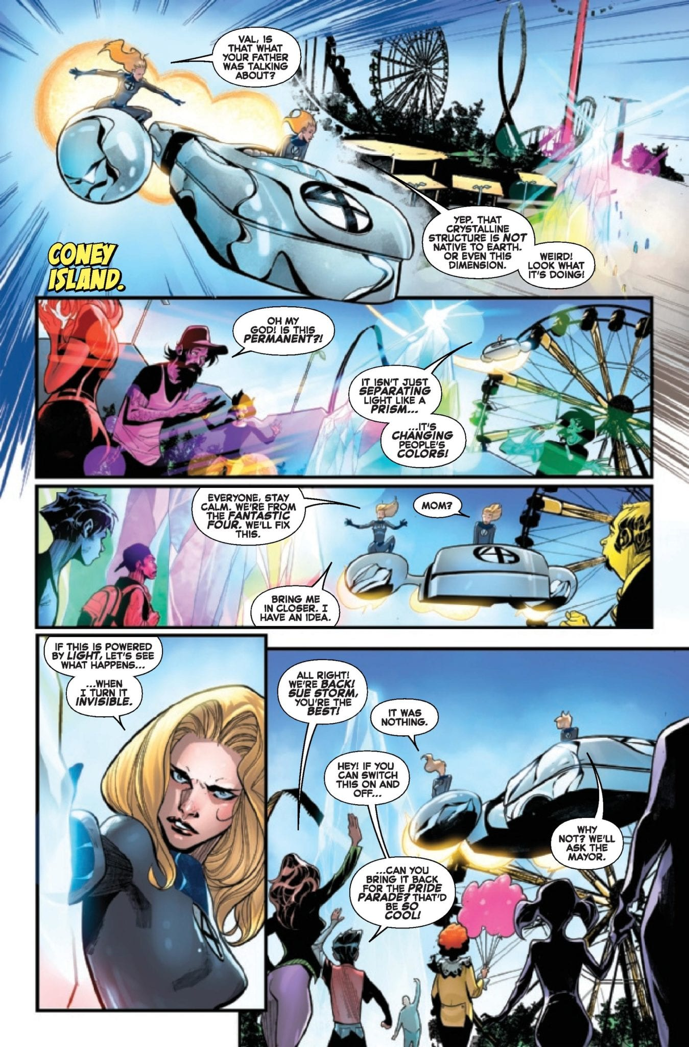 Marvel Comics Exclusive Preview: FANTASTIC FOUR #11