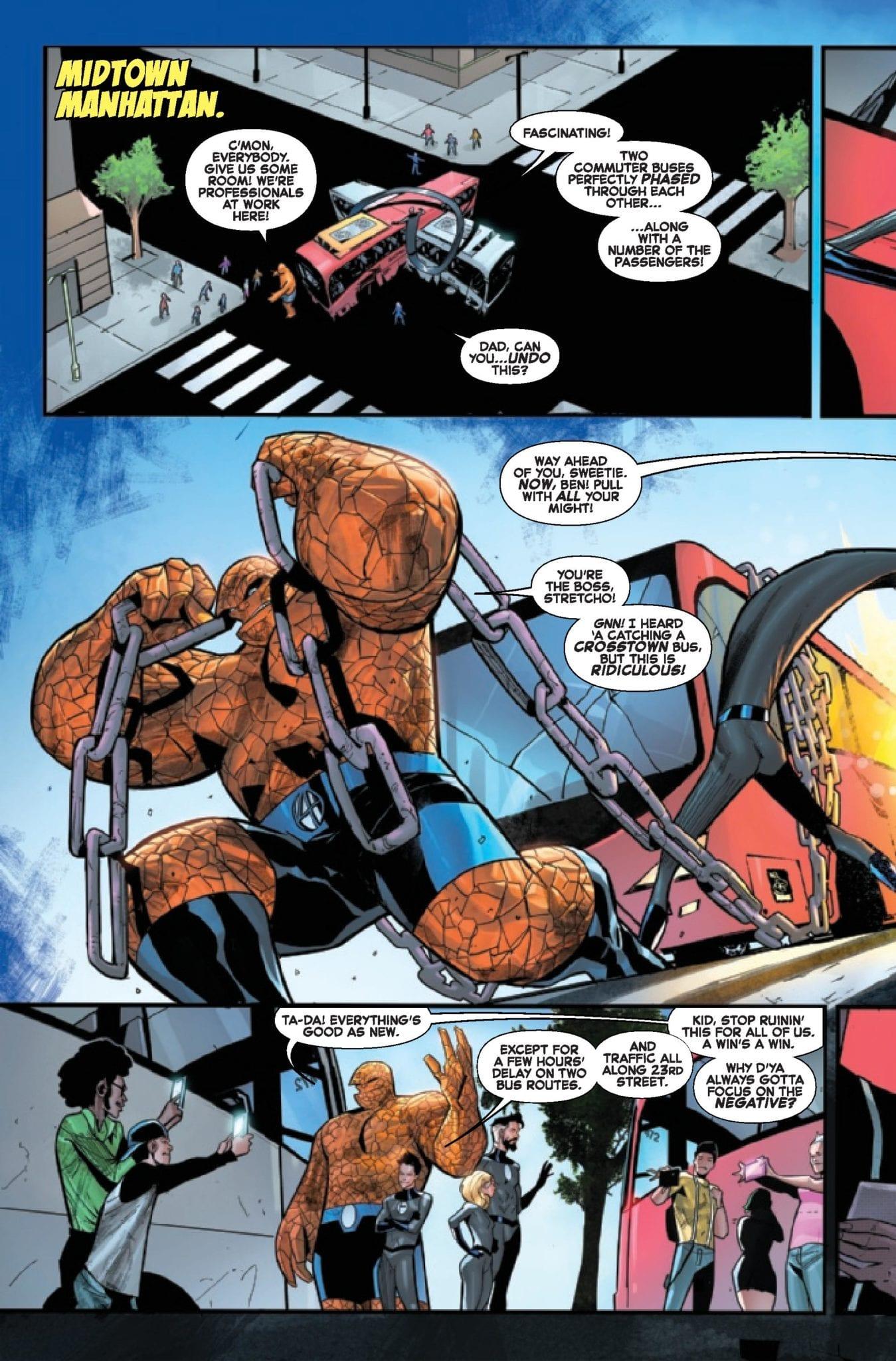 Marvel Comics Exclusive Preview: FANTASTIC FOUR #11 1