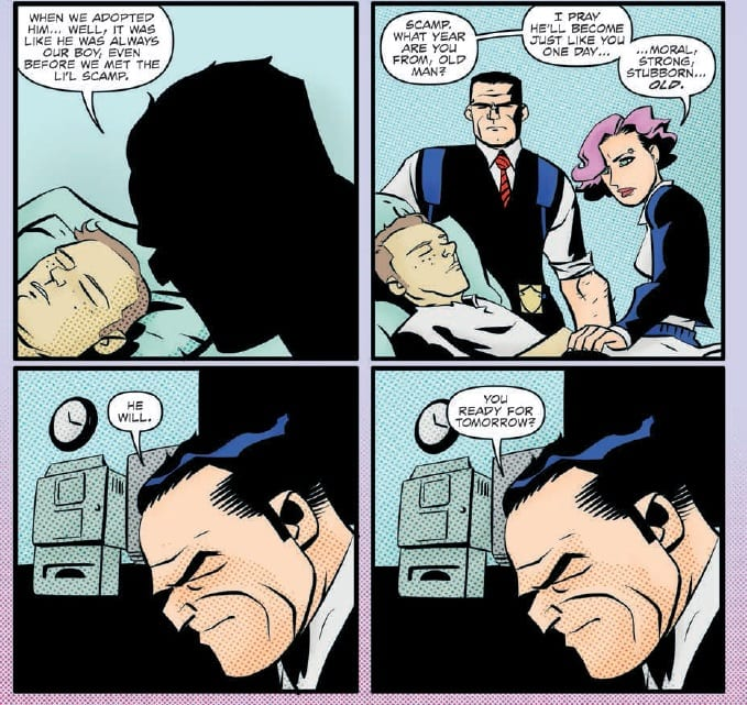 Fighting For Life In DICK TRACY FOREVER #3
