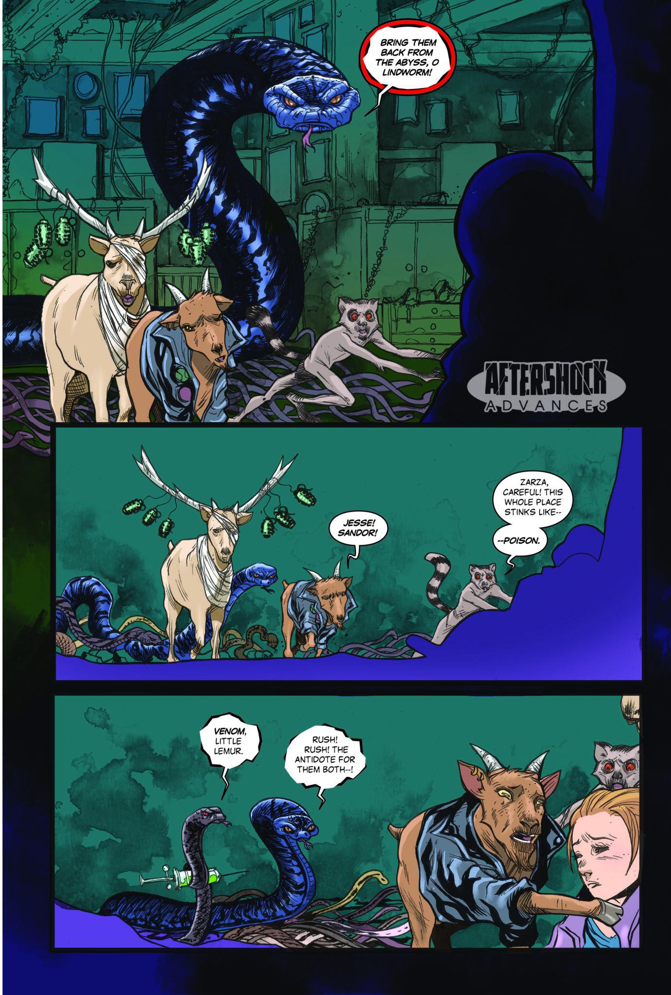 AfterShock Comics Exclusive Preview: ANIMOSITY #22