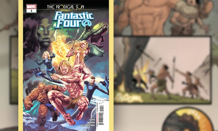 FANTASTIC FOUR: THE PRODIGAL SUN #1 - Peter David Goes SAVAGE In Exclusive Preview 1