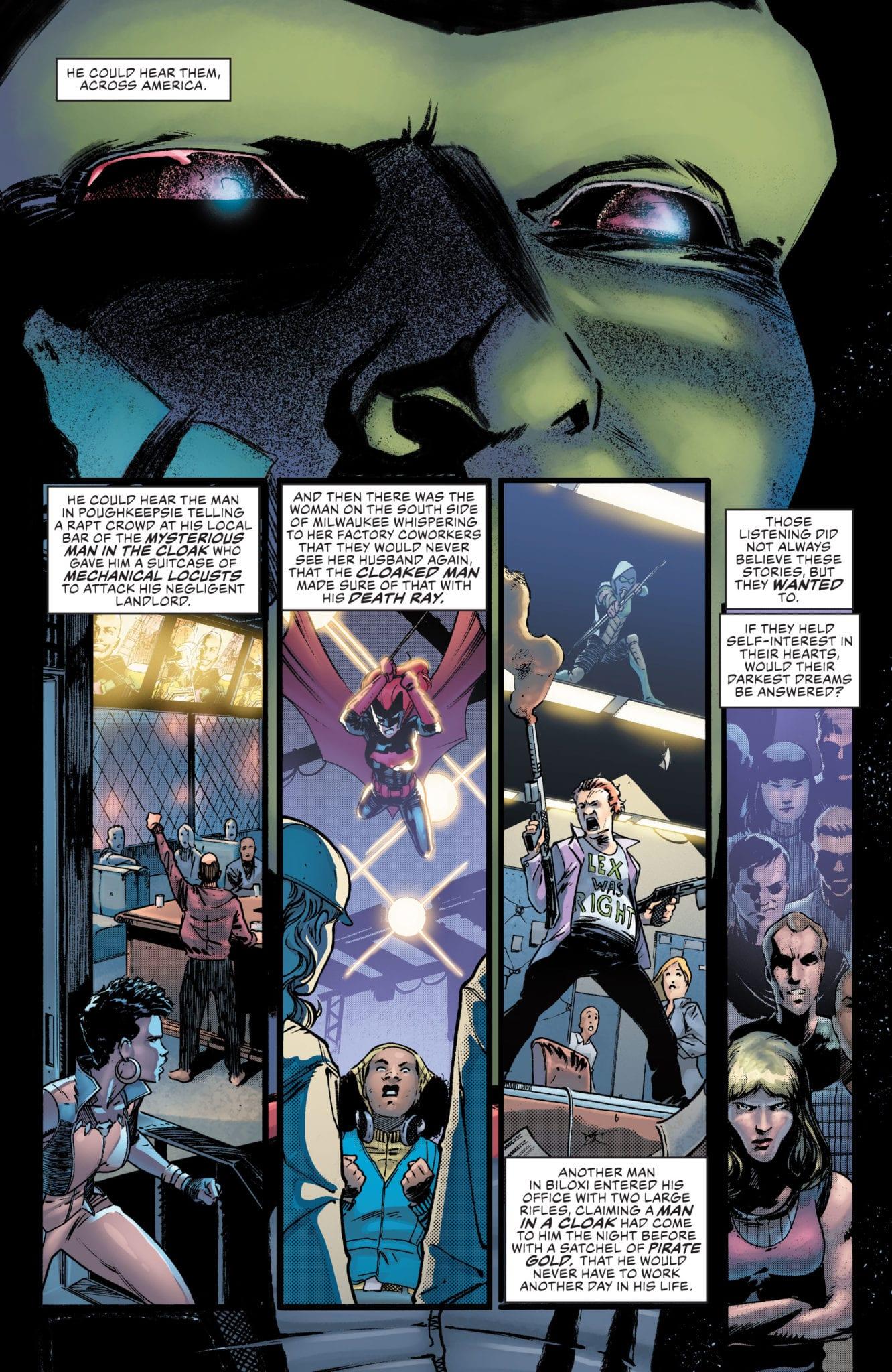 Justice League #26 Page