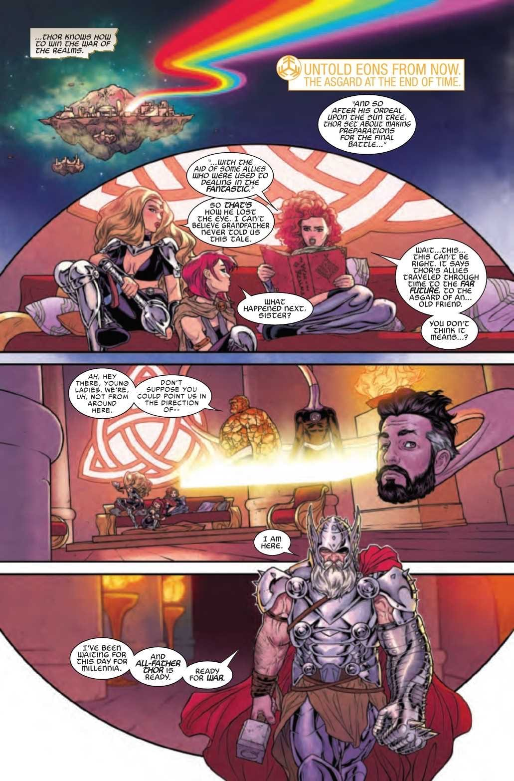 WAR OF THE REALMS Wraps Up Flawlessly 1