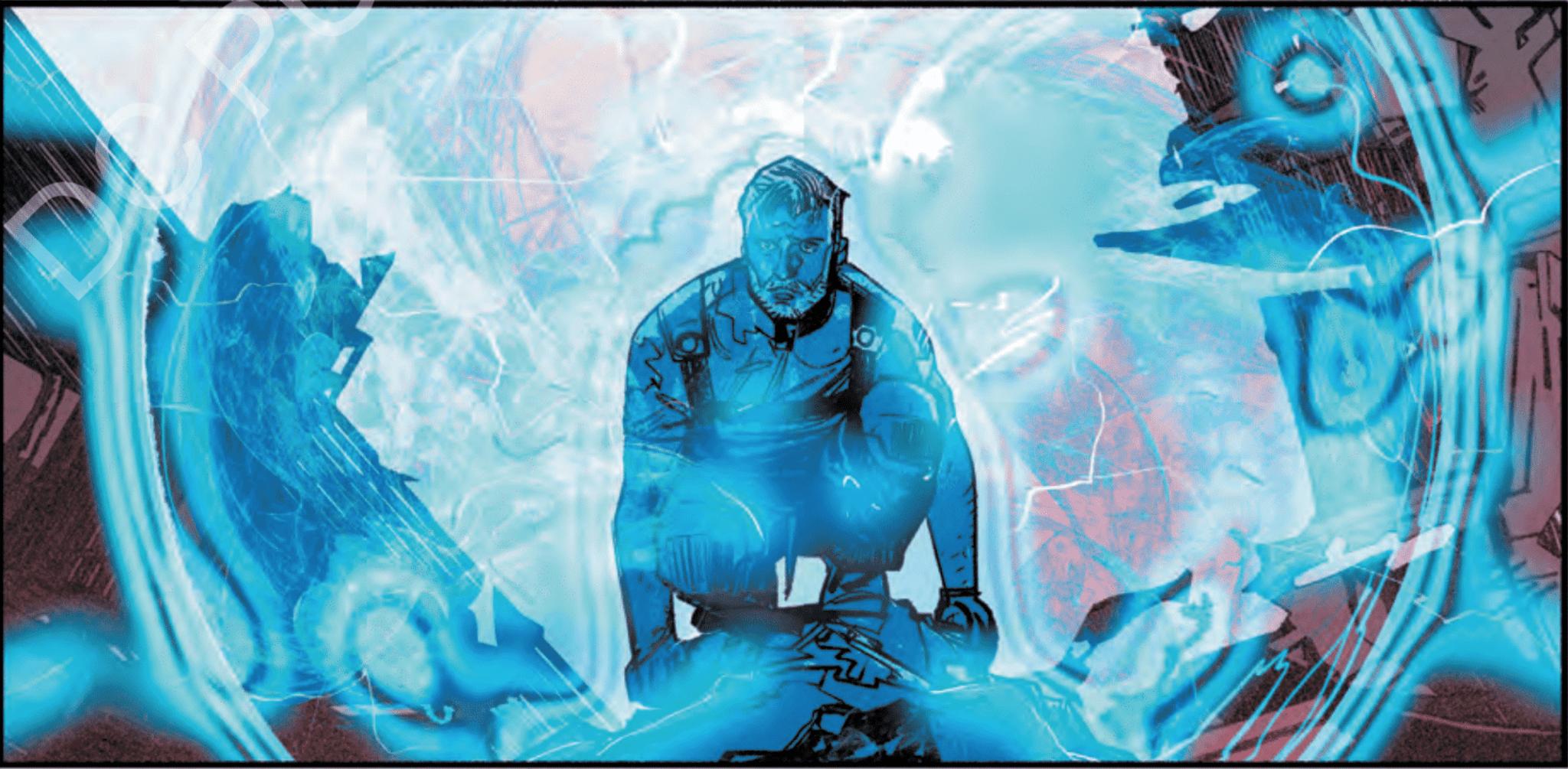 Steve Trevor in Event Leviathan #1