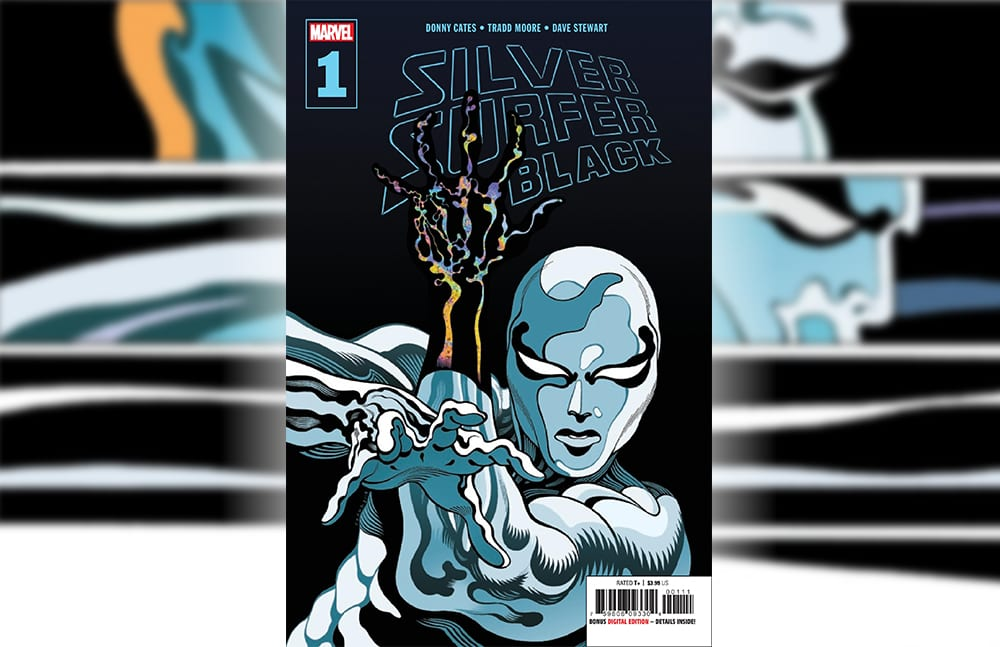 Marvel Comics Exclusive Preview: SILVER SURFER BLACK #1 By Donny