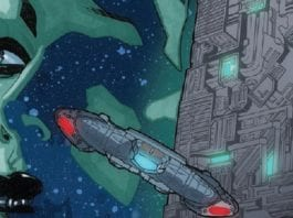 STAR TREK THE Q CONFLICT #5 Can't Find The Space It's Set In
