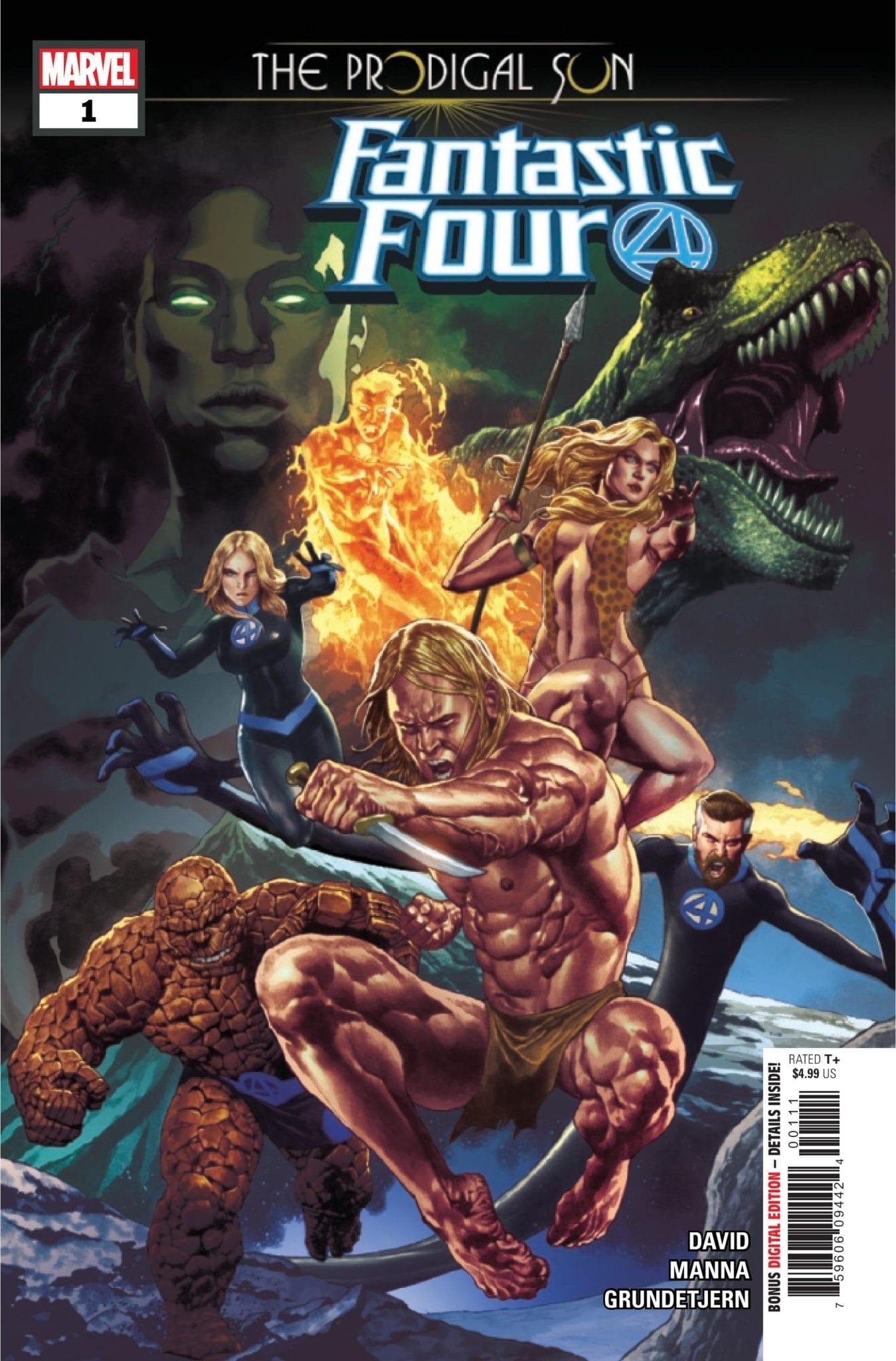 Marvel Comics Exclusive Preview • FANTASTIC FOUR: THE PRODIGAL SUN #1