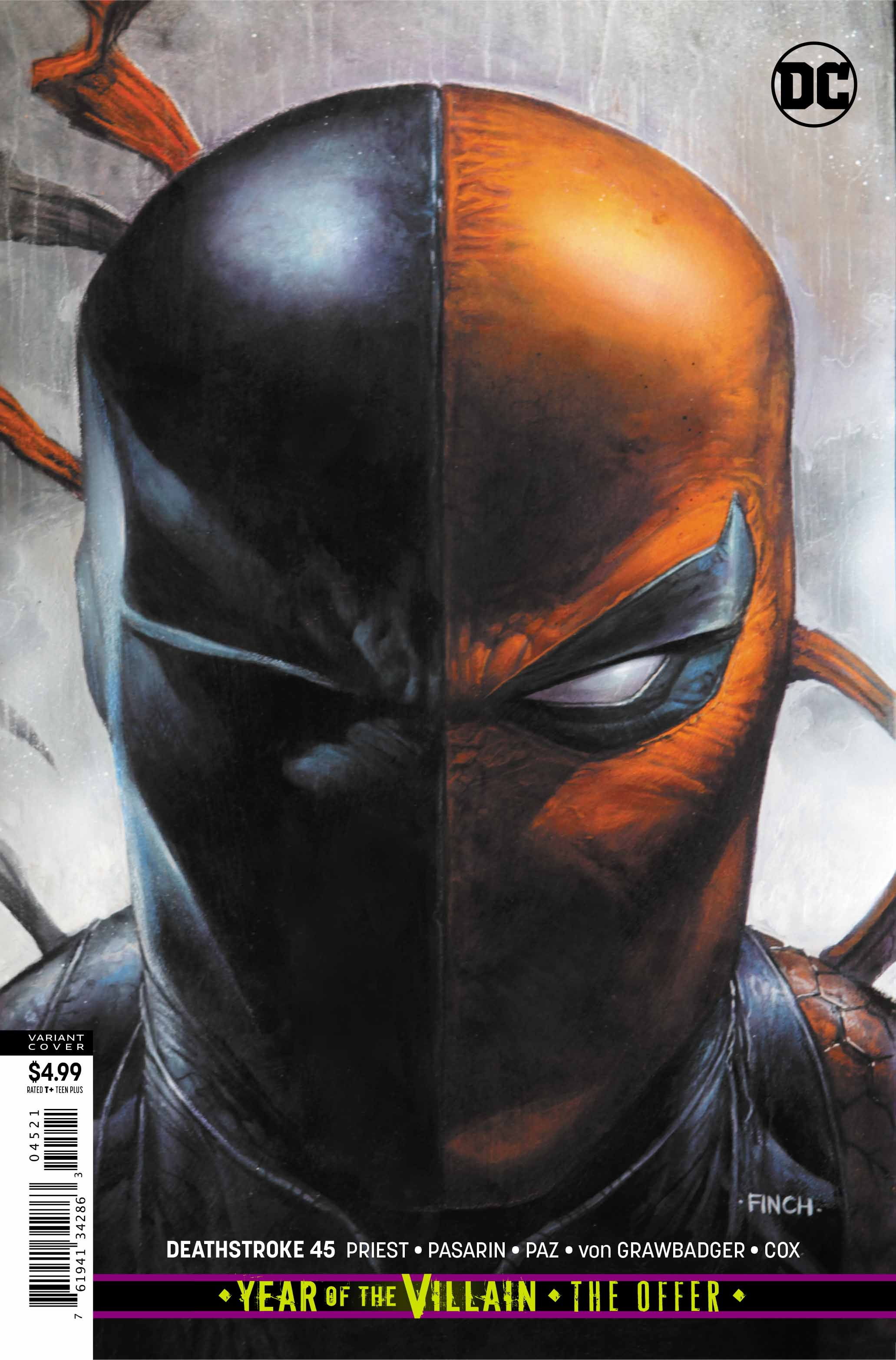 Exclusive DC Preview DEATHSTROKE #45