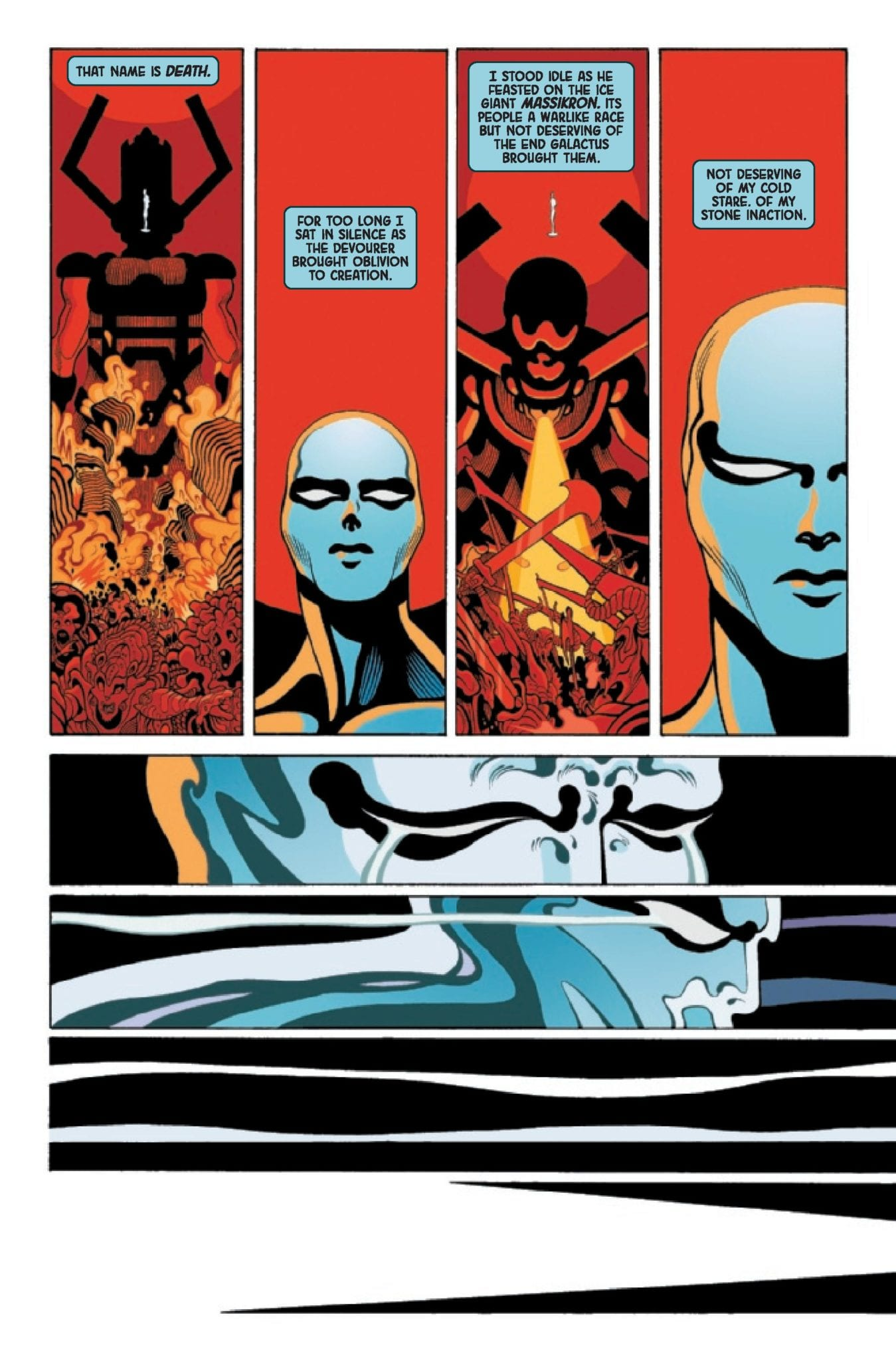 Marvel Comics Exclusive Preview: Donny Cates' SILVER SURFER BLACK #1