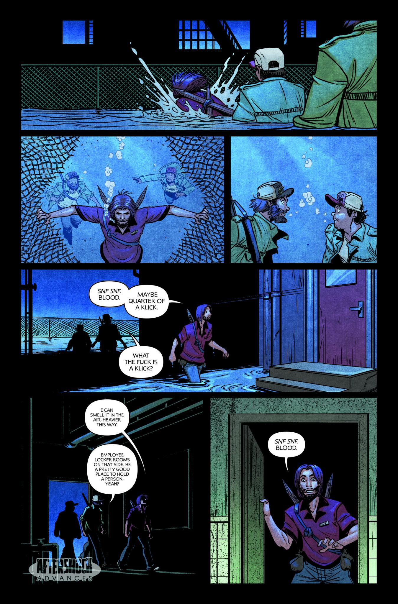 AfterShock Comics Exclusive Preview: DARK RED #4 1