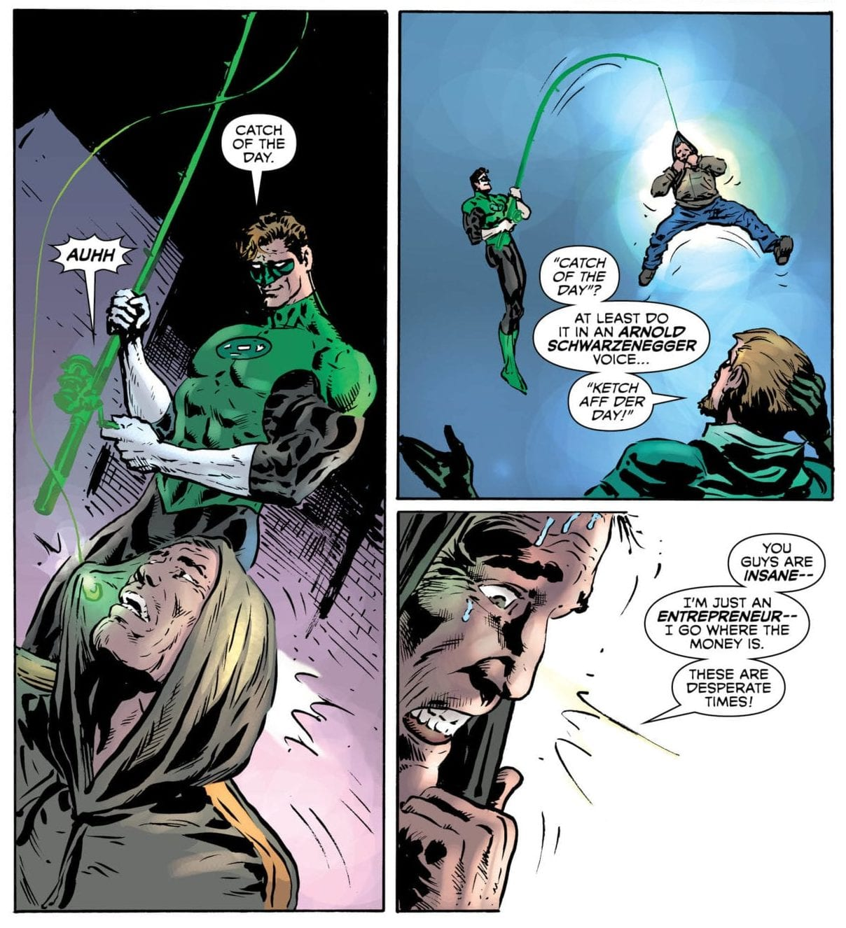 Oliver and Hal team up against drug dealers