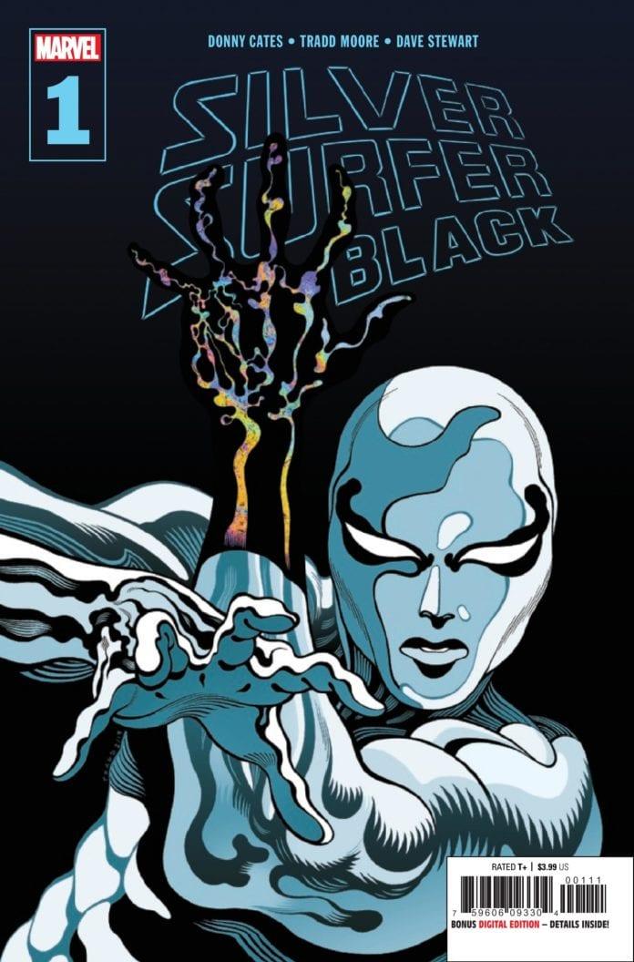 Marvel Comics Exclusive Preview: Donny Cates' SILVER SURFER BLACK #1