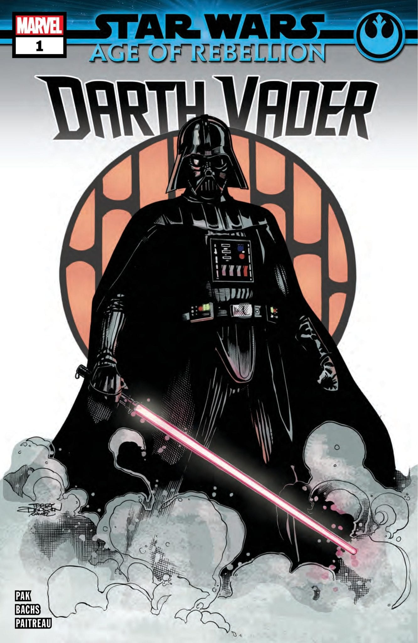 Marvel Comics Exclusive Preview: STAR WARS AGE OF REBELLION DARTH VADER #1
