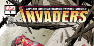 Invaders #1 Cover