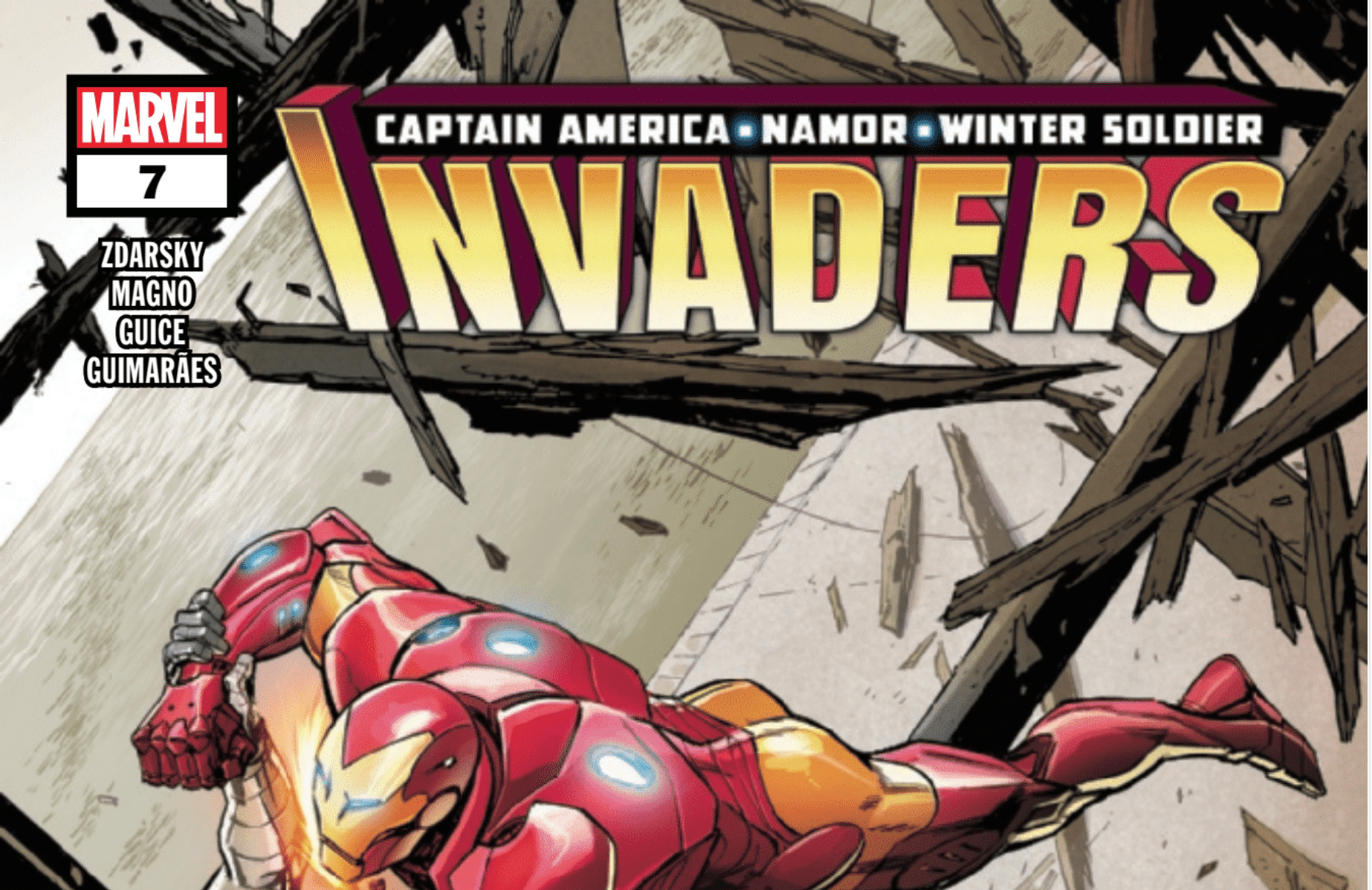 Review: How INVADERS #7 Is Another Throwback To CIVIL WAR