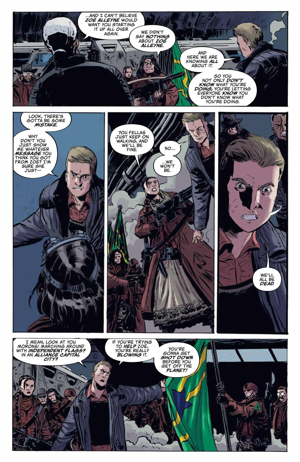 How Enemies Are Turned to Friends in FIREFLY #8