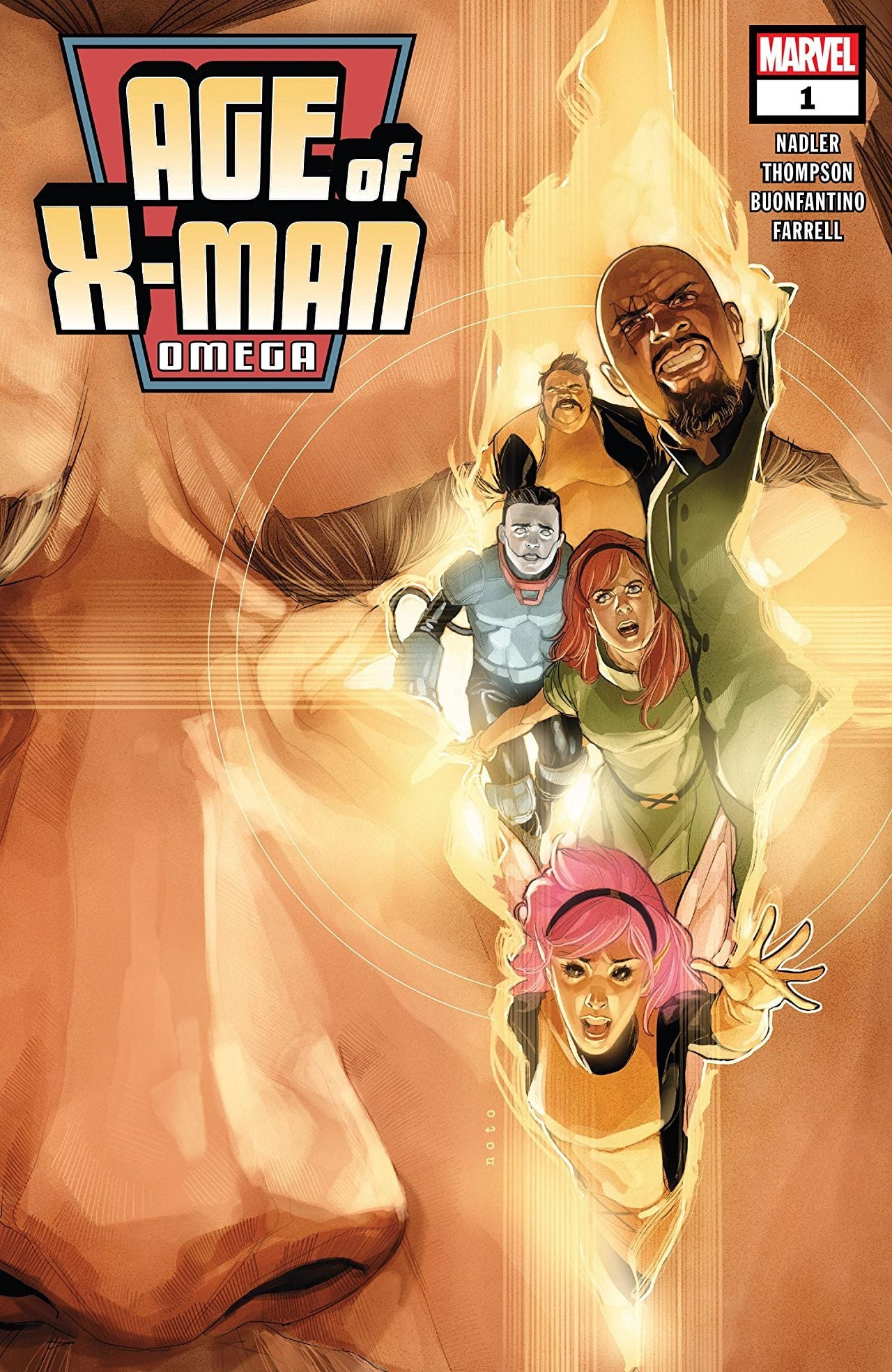 AGE OF X-MAN OMEGA CVR