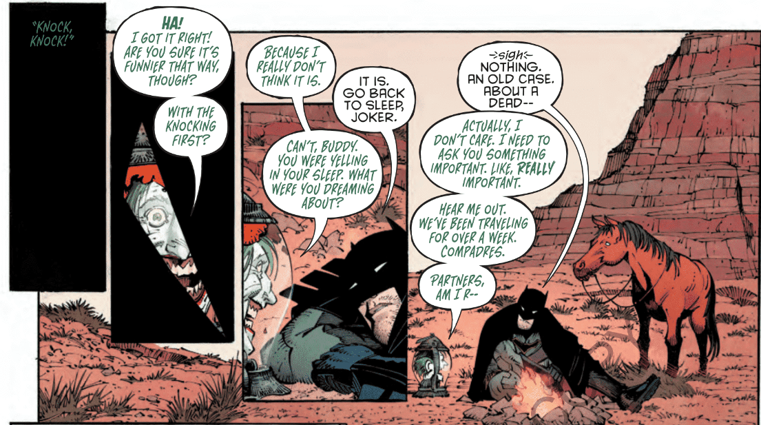 Review: BATMAN: LAST KNIGHT ON EARTH #2 - All Hail Omega! 1