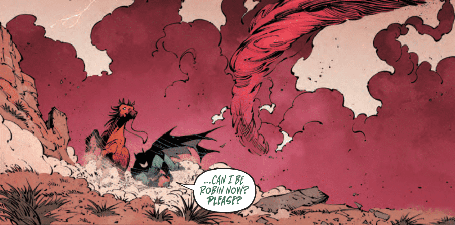 Review: BATMAN: LAST KNIGHT ON EARTH #2 - All Hail Omega! 2