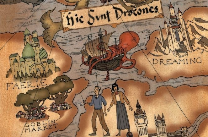BOOKS OF MAGIC #10 cover artwork