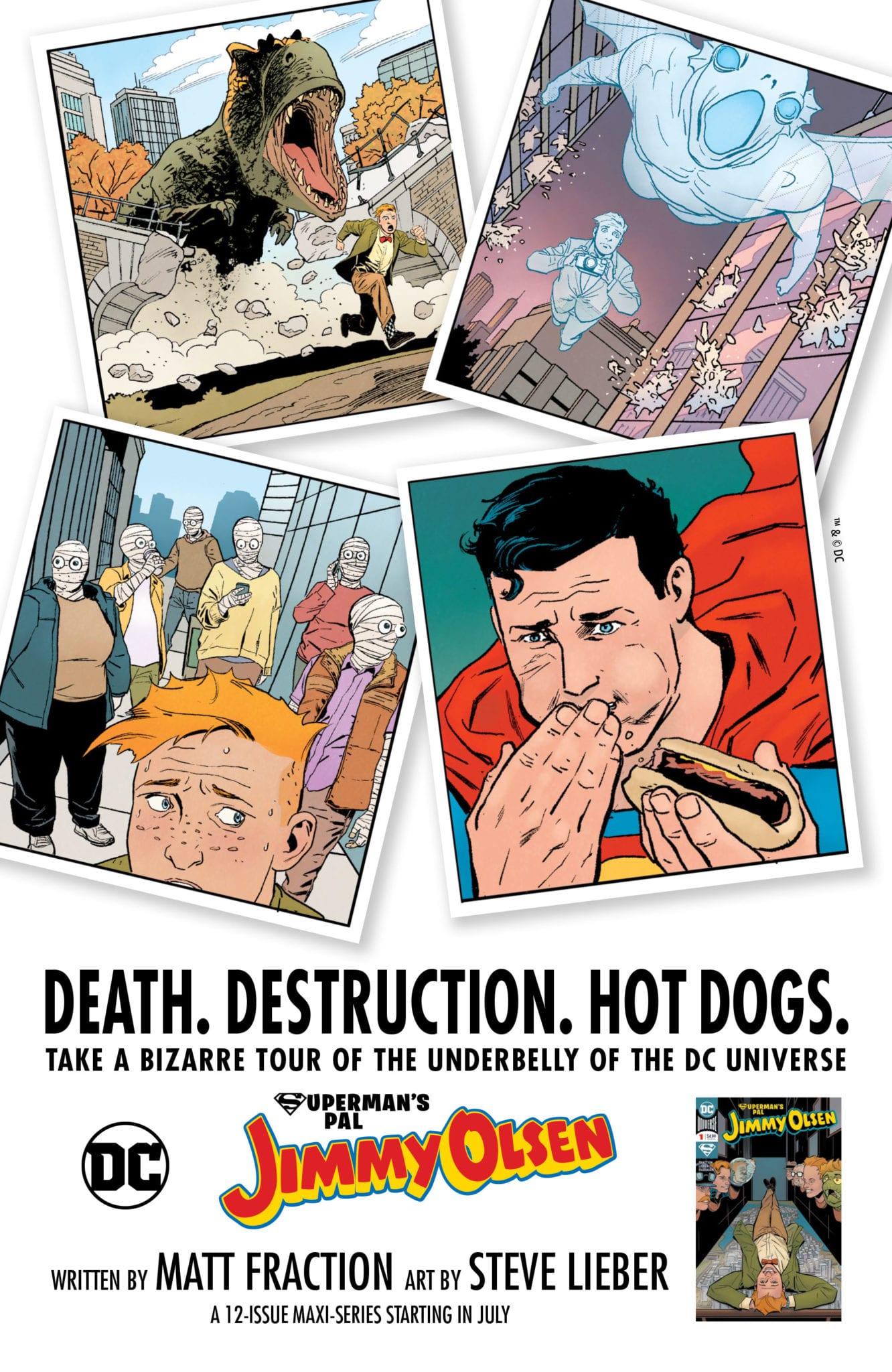 Superman's Pal Jimmy Olsen DC Comics Matt Fraction Steve Lieber