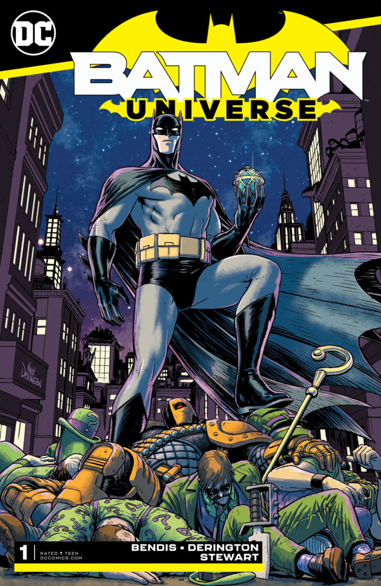 Batman Universe 1 cover
