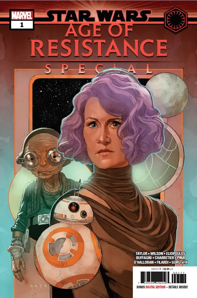 Star Wars Age of Resistance Special Cover