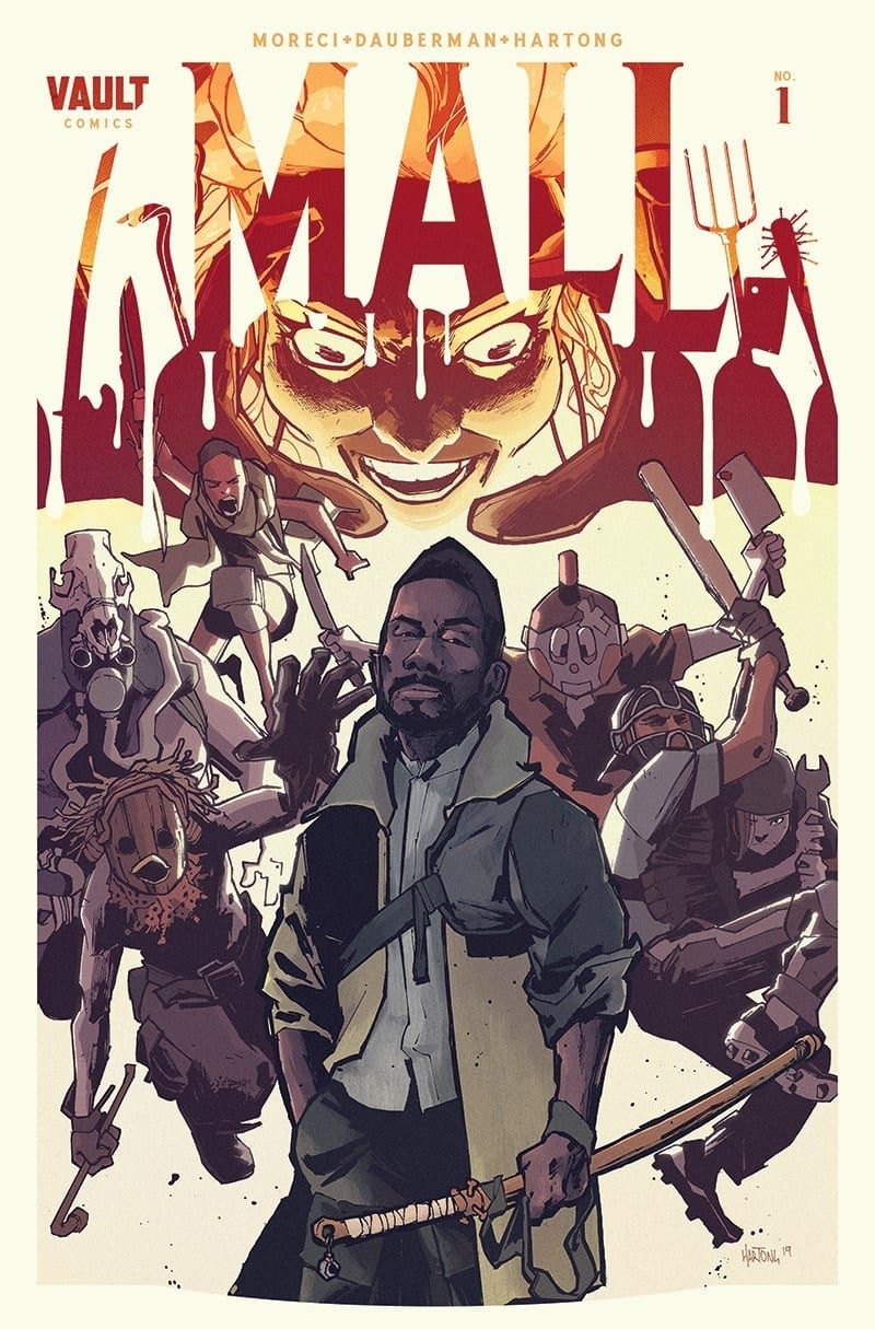 mall #1 review vault comics