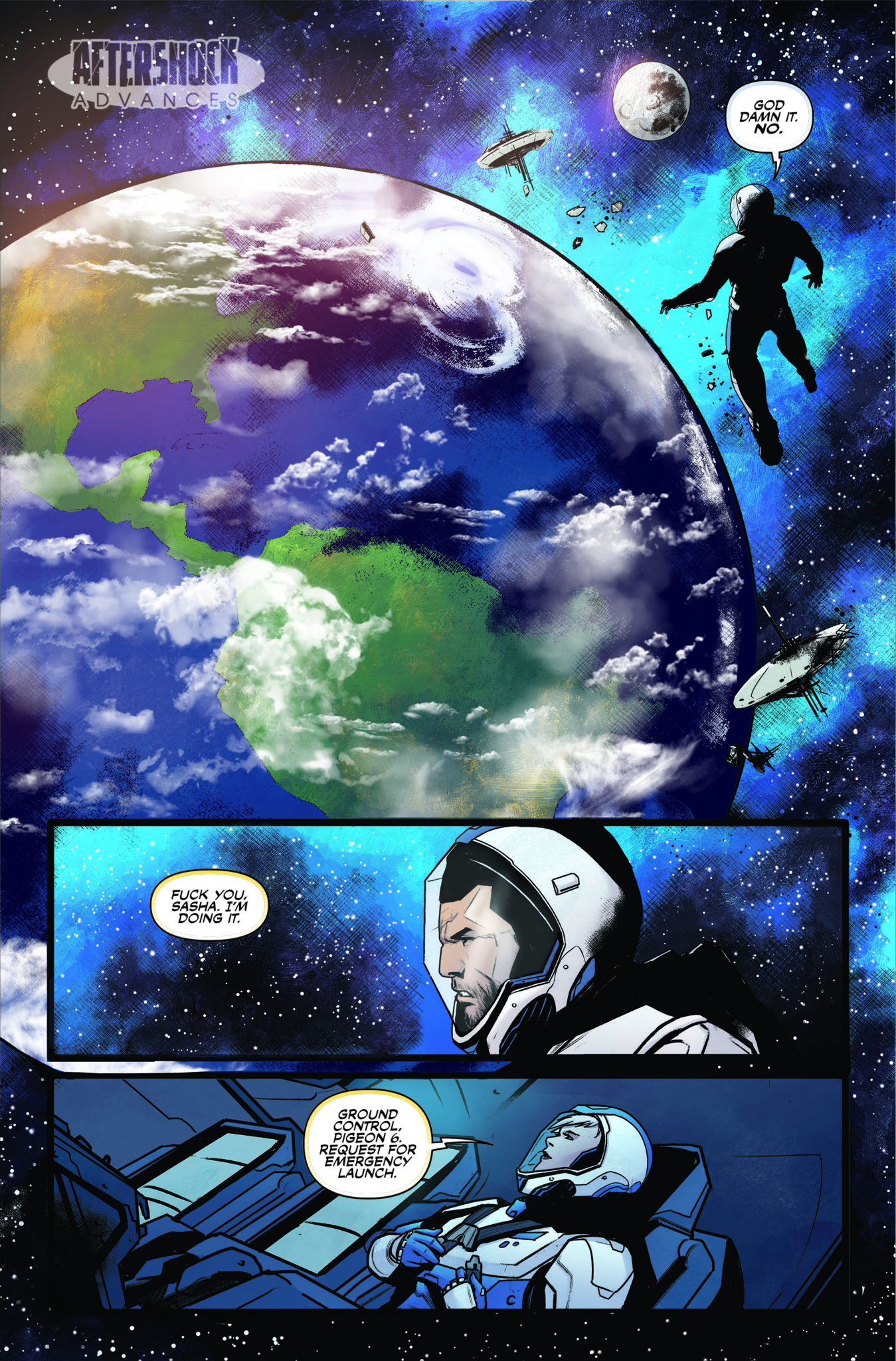 AfterShock Exclusive Preview: THE LAST SPACE RACE #5