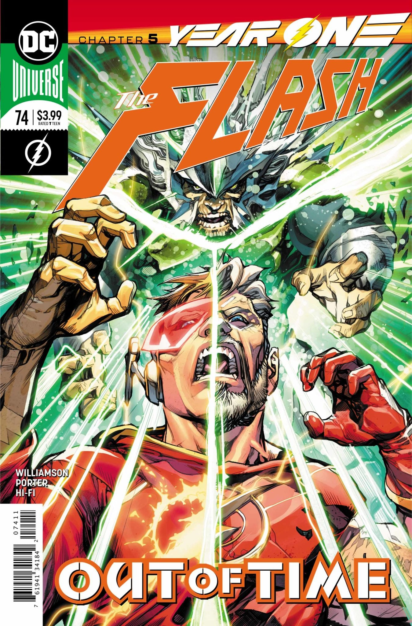 """DC Comics Exclusive Preview: THE FLASH #74 """"Year One - Chapter 5"""" 1"""