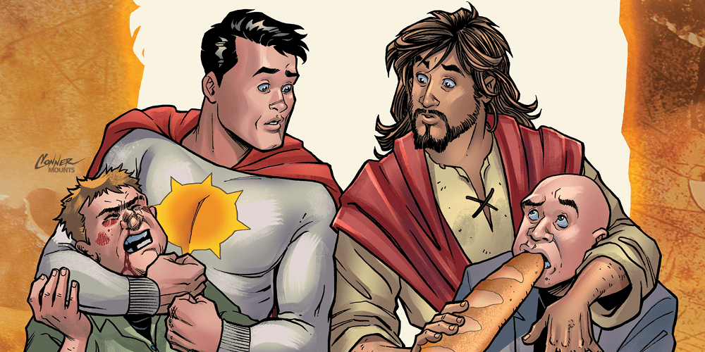 Review: SECOND COMING #1 is a Divine Comedy