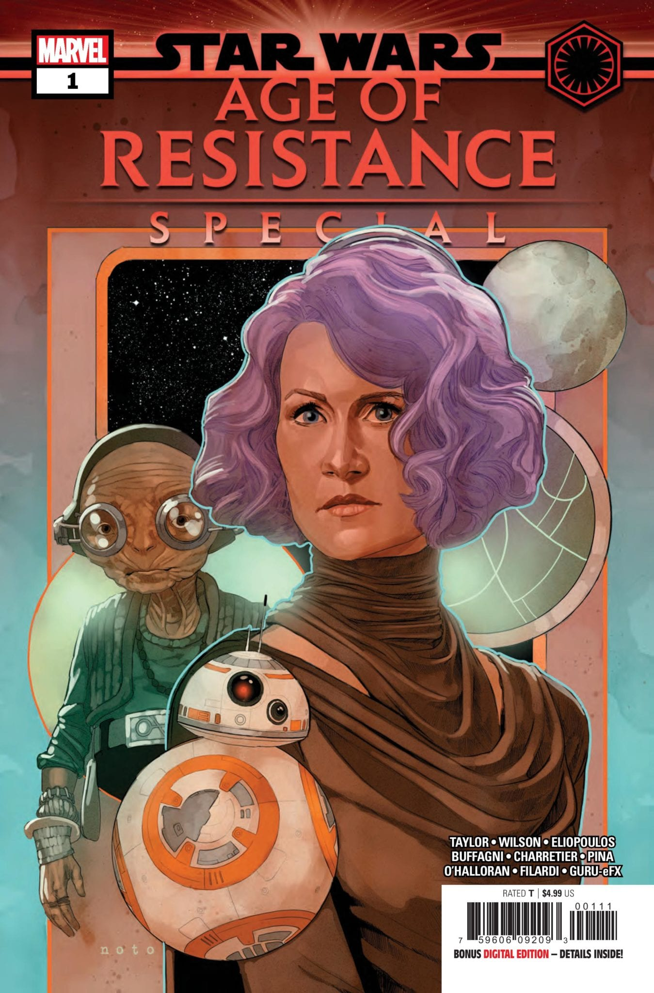 Marvel Comics Preview: STAR WARS AGE OF RESISTANCE SPECIAL #1