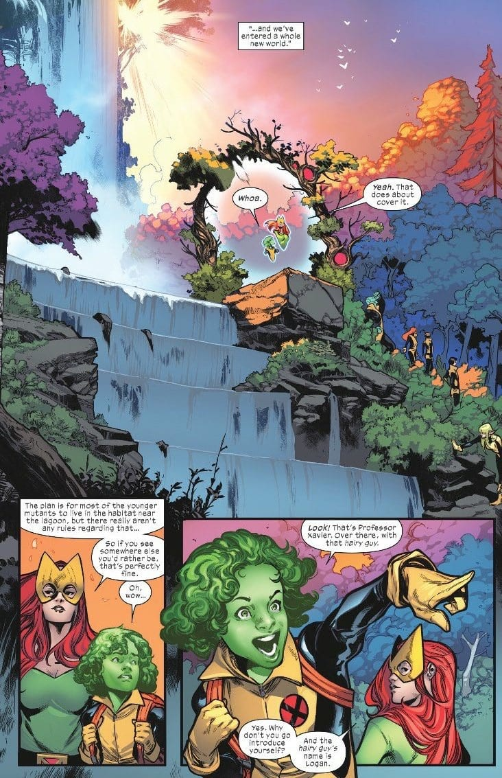 HOUSE OF X #1 - Hickman Almighty 2