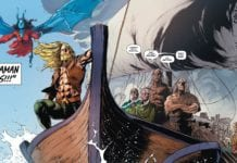 Aquaman and old gods arrive in Amnesty Bay