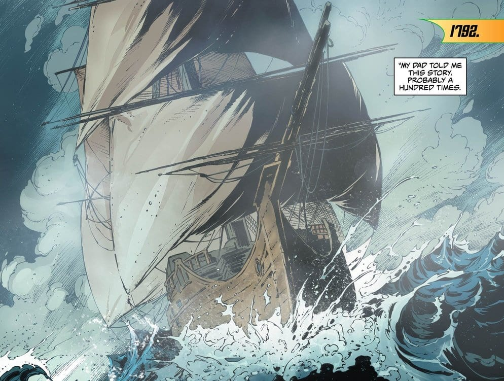 Review: Immigrants From The Sea Arrive In Amnesty Bay In AQUAMAN #50 2