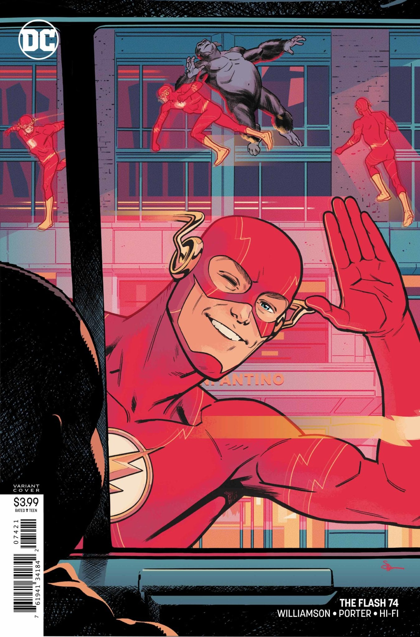 DC Comics Exclusive Preview: THE FLASH #74