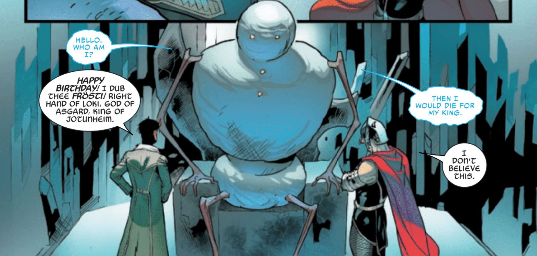Review: Frosty The Snowman Comes To Marvel In LOKI #1