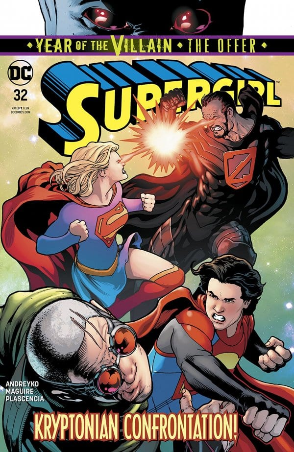 SUPERGIRL #32 Dispensing Intergalactic Justice