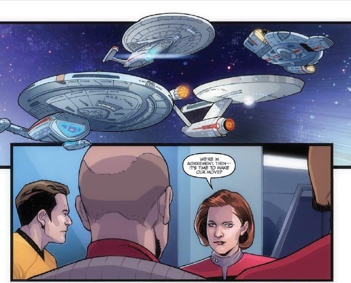 STAR TREK THE Q CONFLICT Limps Towards The Final Frontier