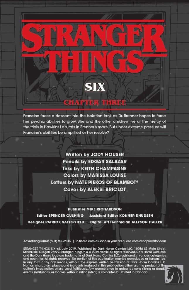 Stranger Things SIX #3 Pg 1