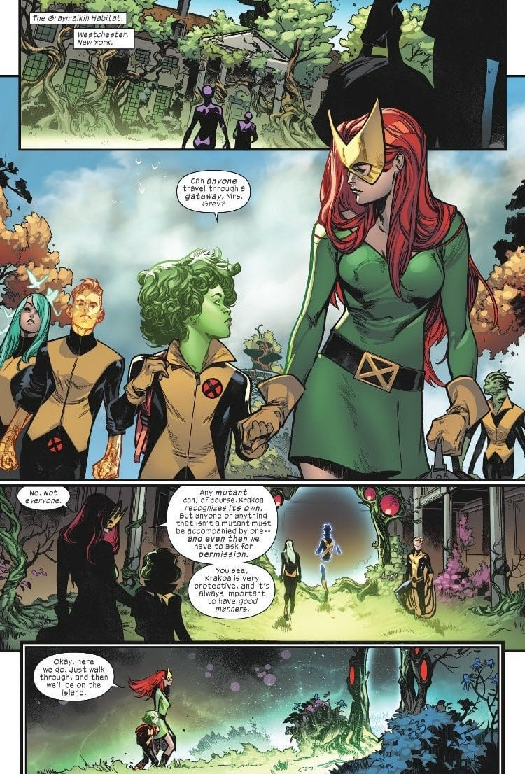 HOUSE OF X #1 - Hickman Almighty 1